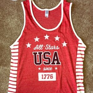 🆕🇺🇸Alternative Apparel USA Tank,Lg,NWT🇺🇸🔥!